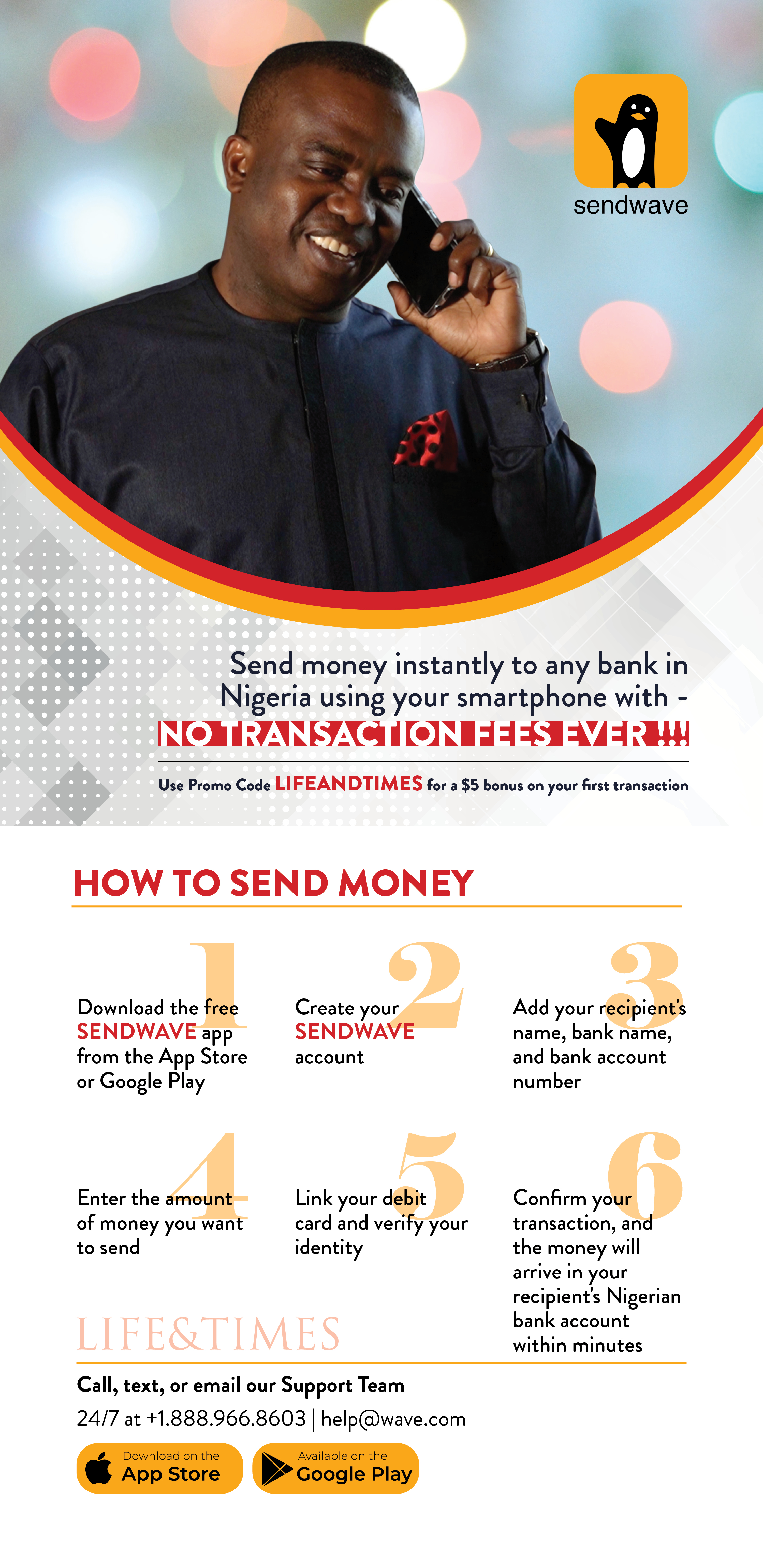 Send Money To Your Loved Ones In